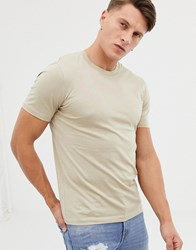 Selected Home Crew Neck T Shirt Grey