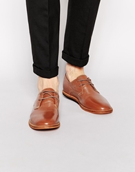 Frank Wright Busby Derby Shoes Tan