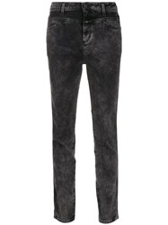 Closed Double Yoke Jeans Black