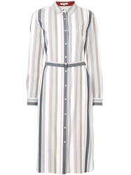 Guild Prime Striped Shirt Dress Multicolour