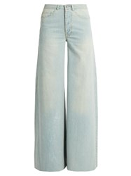 Raey Loon Wide Leg Jeans Light Blue