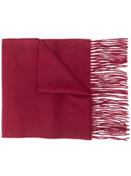 Mulberry Cashmere Scarf Red