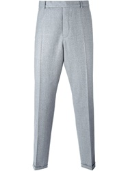 Carven Slim Fit Trousers Grey