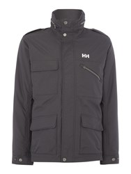 Helly Hansen Universal Moto Insulated Rain Jacket Charcoal