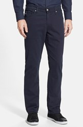 Ag Jeans Men's Big And Tall 'Graduate Sud' Slim Straight Leg Pants Navy