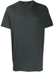 Zadig And Voltaire Toby T Shirt Grey