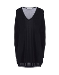 Gio' Moretti Short Sleeve Sweaters Black