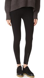 Helmut Lang Reflex Zip Leggings Black