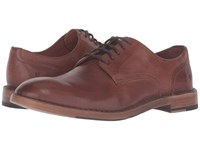 Frye Mark Oxford Copper Tumbled Full Grain Men's Lace Up Casual Shoes Tan