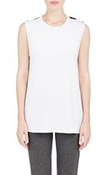 Thakoon Addition Combo Tank Colorless
