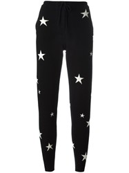 Chinti And Parker Star Track Pants Black