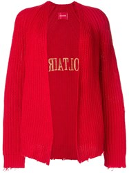 Zadig And Voltaire Lemmy Cardigan Red