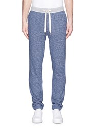 Alex Mill Cotton French Terry Sweatpants Blue