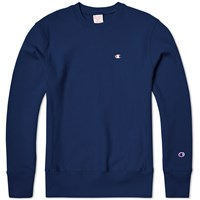 Champion Reverse Weave Classic Crew Sweat Royal