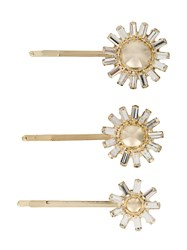 Rosantica Crystal Embellished Hair Clips 60
