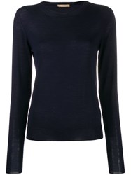 Nuur Long Sleeved Pullover Blue