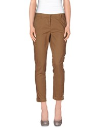 Good Mood Trousers Casual Trousers Women Camel