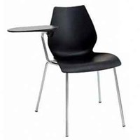 Kartell Maui Task Chair With Tablet Arm Set Of 2