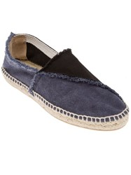Castaner Bi Colour Espadrille Blue
