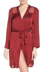 Band Of Gypsies Women's Lace Inset Robe