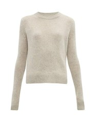 The Row Muriel Cashmere Sweater Light Grey