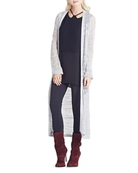 Bcbgeneration Lace Stitch Long Cardigan Grey