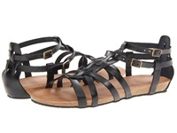 Eric Michael Miami Black Women's Sandals