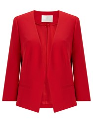 Jacques Vert Edge To Edge Jacket Bright Red