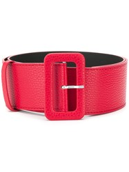 P.A.R.O.S.H. Buckled Belt Red