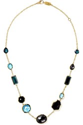 Ippolita Rock Candy 18 Karat Gold Multi Stone Necklace One Size