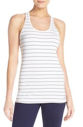 Brooks Women's 'Go To' Racerback Tank White Black
