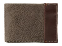 Johnston And Murphy Super Slim Wallet Loden Bill Fold Wallet Green