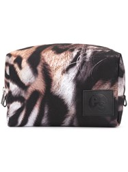 Paul Smith Ps By Tiger Stripe Wash Bag Black