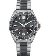 Tag Heuer Waz2011.Ba0843 Formula 1 Stainless Steel And Ceramic Watch