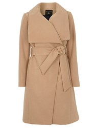 Dorothy Perkins Belted Wrap Coat White
