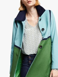 Boden Lovelace Coat Broad Bean