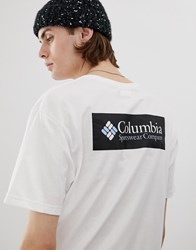 Columbia North Cascades Back Print T Shirt In White