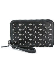 Jimmy Choo Carter Clutch Black