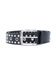 Etoile Isabel Marant Rica Studded Belt Women Leather L Black