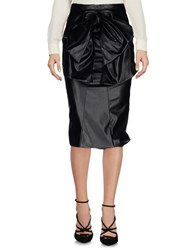 Daniele Carlotta 3 4 Length Skirts Black