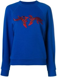 Kenzo Flying Phoenix Sweatshirt Blue