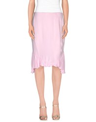 Gai Mattiolo Skirts Knee Length Skirts Women Pink