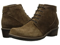 Wolky Erne Bison Greased Suede Women's Lace Up Boots Tan