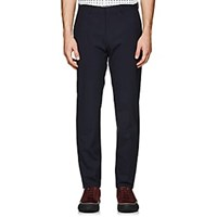 Theory Mayer Worsted Wool Trousers Navy