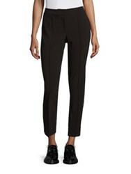 Yigal Azrouel Solid Stretch Pants Black