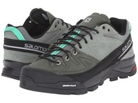 Salomon X Alp Ltr Light Tt Night Forest Jade Green Women's Shoes Black