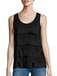 Lord And Taylor Plus Tiered Tank