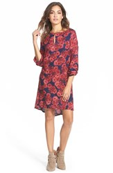 Junior Women's Element 'Timber' Floral Print Dress