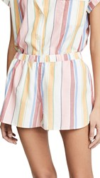 Madewell Bedtime Pajama Shorts Pale Parchment