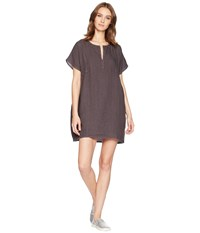 Allen Allen Solid Boxy Pullover Dress Flint Beige